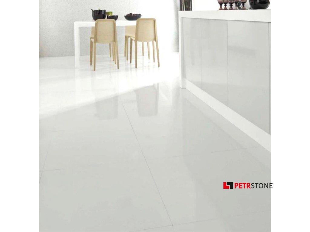 Extra Super White lesk 120x60x1 cm 4