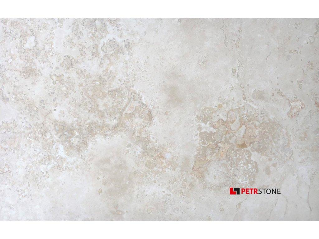 Prirodni kamen formatovany Travertin BIANCO plneny lesteny matny 3