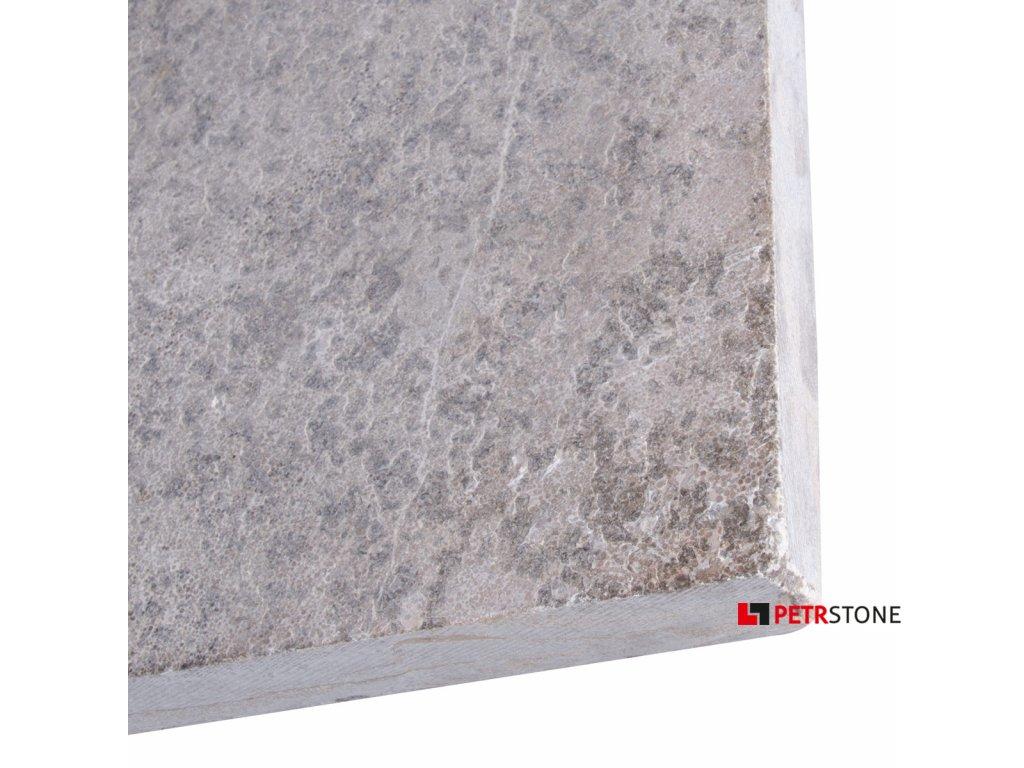 Vápenec L828 Limestone opálený a kartáčovaný 60x60x2cm 4