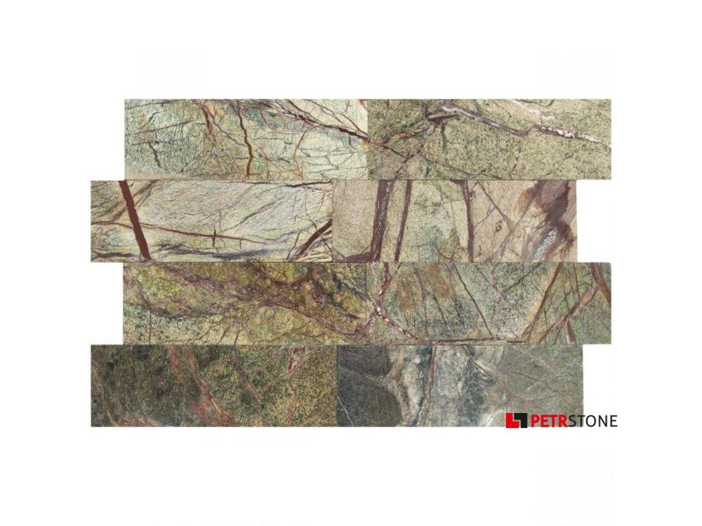 Mramor forest green 10x30 5