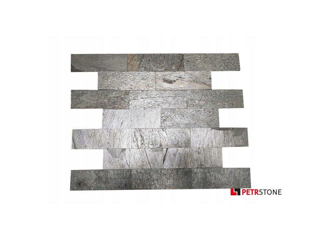 Silver Shine Brick 10x30 Marka Tiles 2