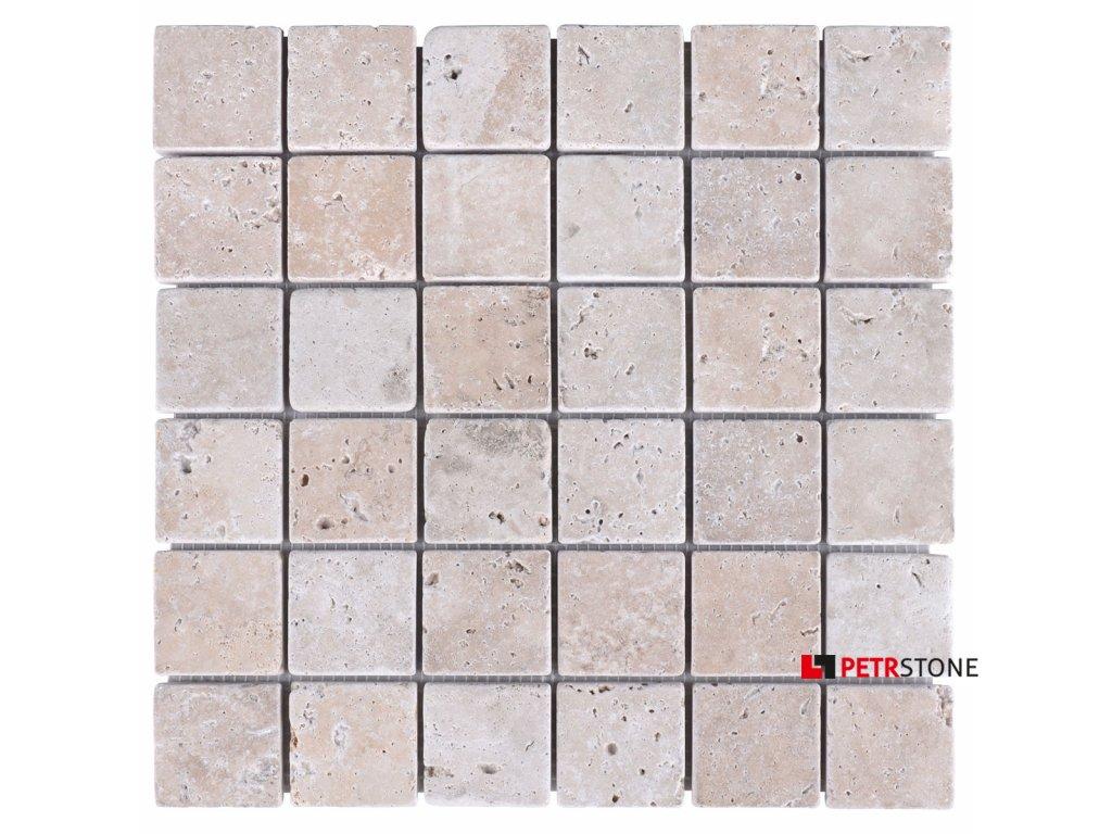 mozaika trawertyn mix 4 8x4 8 2