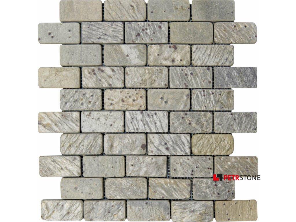metallic green brick 30 5x30 5