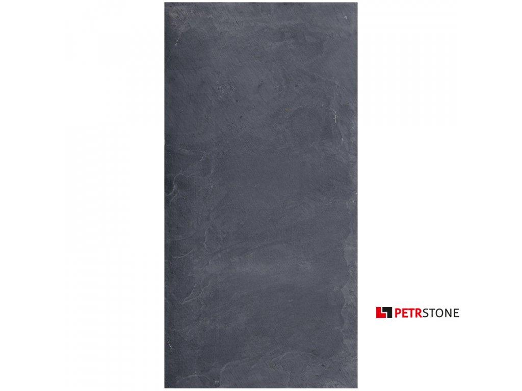 Black Slate naturalny 60x30x1 cm 1
