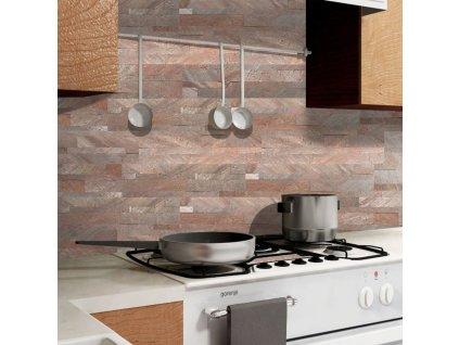panel scienny quick stone 3d copper 60x15x0 2 0 4
