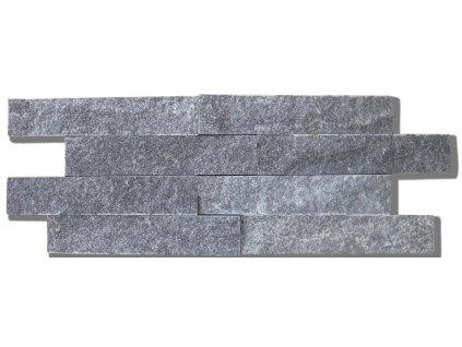 Mramor crystal šedý pásky 11