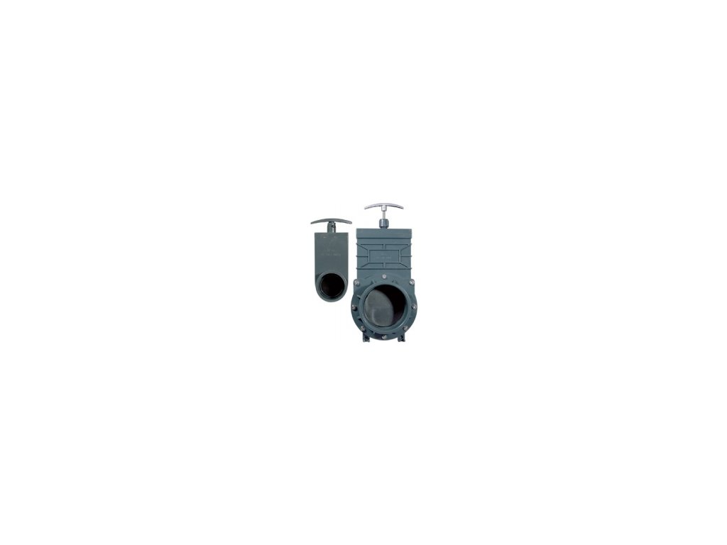 Šoupě PVC - tažný uzávěr 75 mm