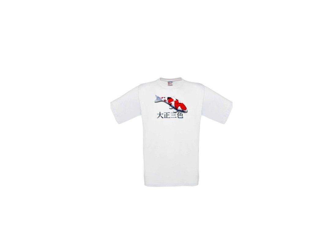 Tričko s motivem Koi - Sanke