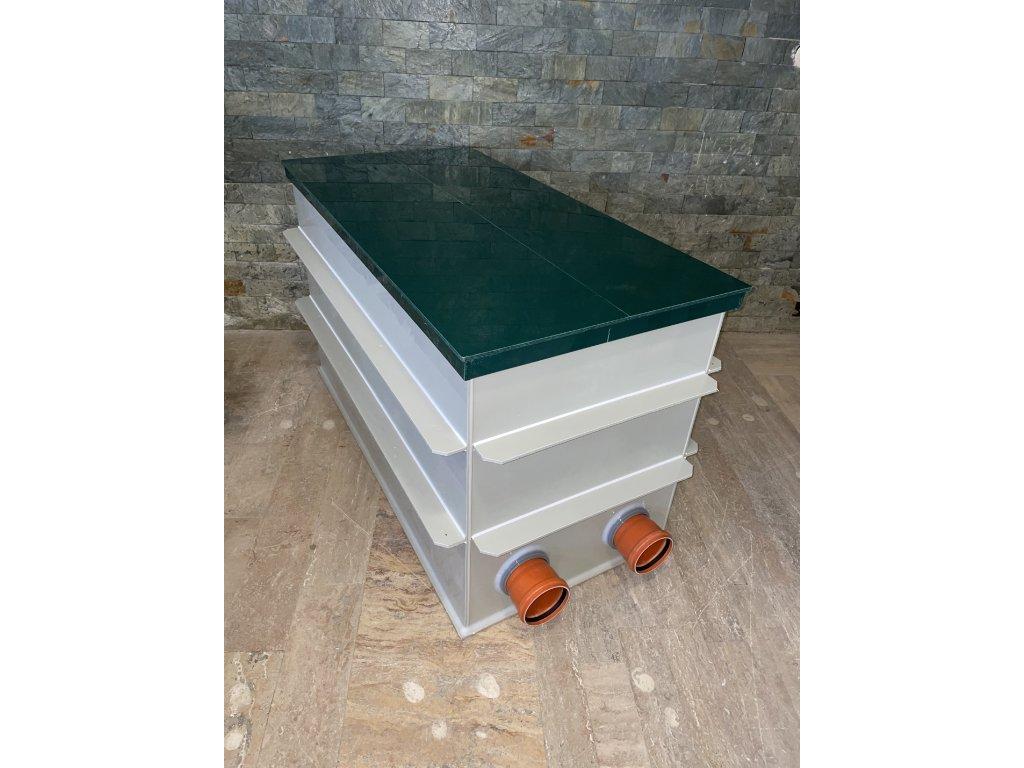 Čerpadlová šachta pro napojení nasucho 60 x 106 cm (2 vstupy)