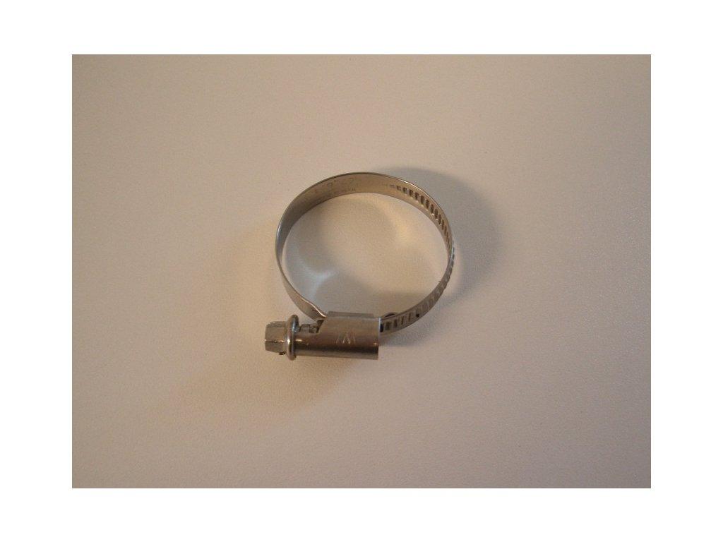 Stahovací kroužek nerez 32 mm