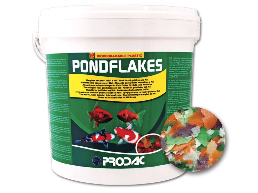 Nutron Pondflakes, balení 1kg - 10l