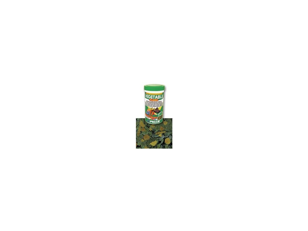 Nutron Vegetable Flakes - krmivo pro býložravé akvarijní ryby, balení 100ml - 20g