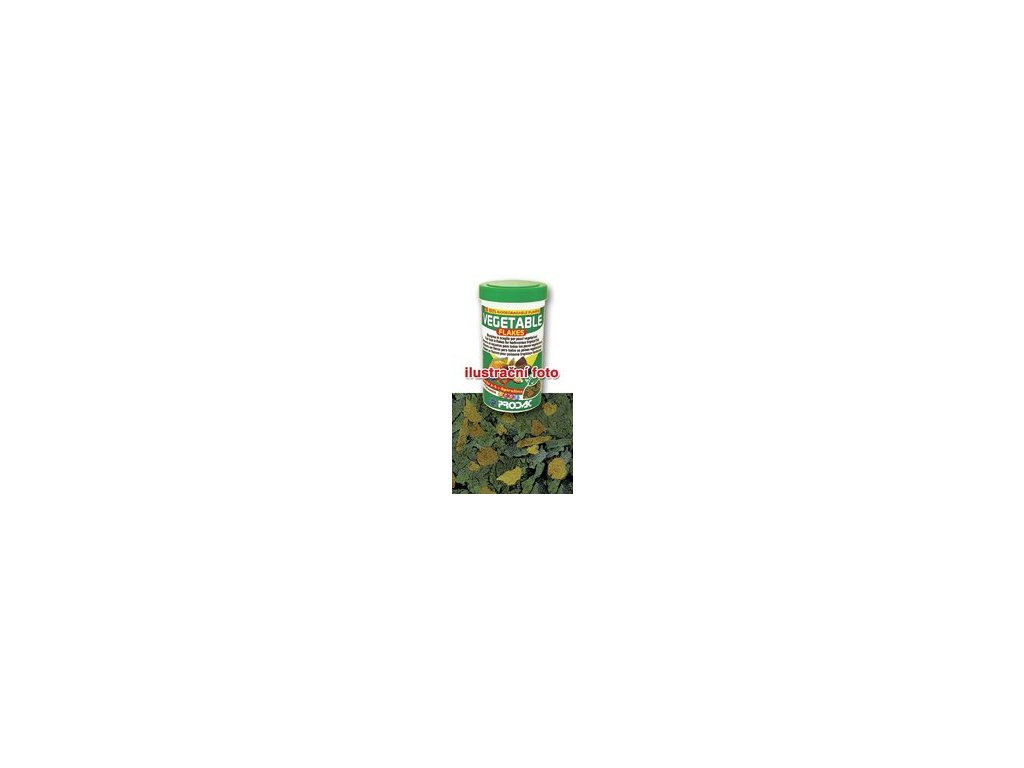 Nutron Vegetable Flakes - krmivo pro býložravé akvarijní ryby, balení 250ml - 50g