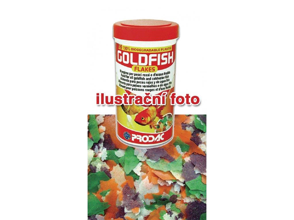 Nutron Goldfish Flakes - vločkové krmivo pro studenovodní ryby, balení 250ml - 32g