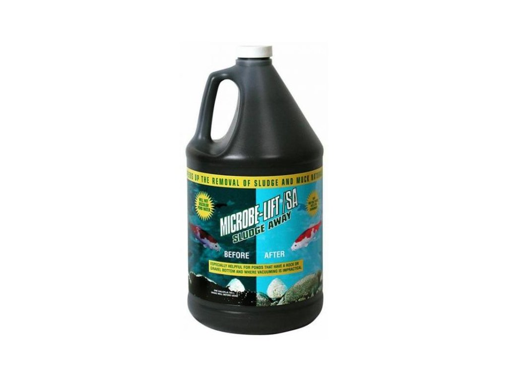 MICROBE LIFT – SLUDGE AWAY - kaložrout 4 l na 50 m3