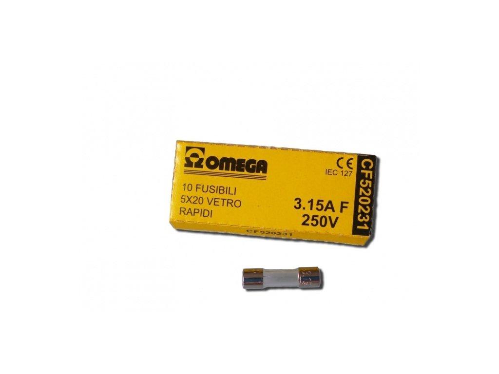 Náhradní pojistka pro UV lampu TMC 110 W