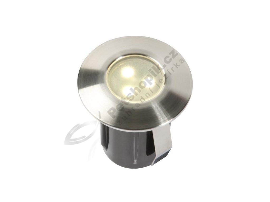 LED svítidlo ALPHA - Nerez (teplá bílá)