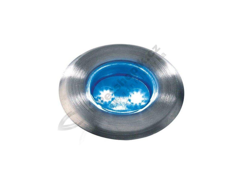 LED svítidlo ASTRUM - Nerez (modrá)