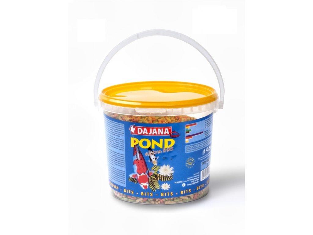 Krmivo pro okrasné rybky - Dajana Pond extra bits 5000