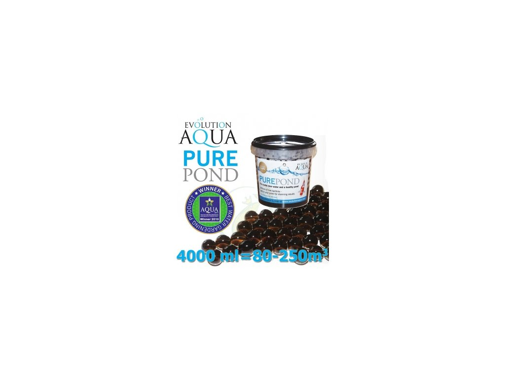 Bakterie Pure Pond Black Balls bacterials 4000 ml