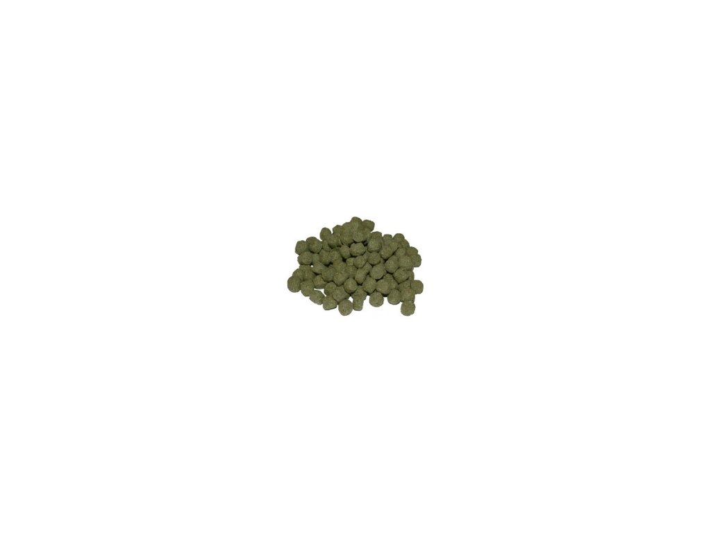 Krmivo pro Koi kapry Spirulina - 6mm
