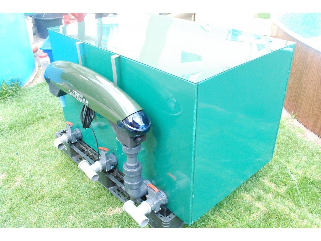 Filtr pro zahradní jezírka - tříkomorový - Jumbo filtr