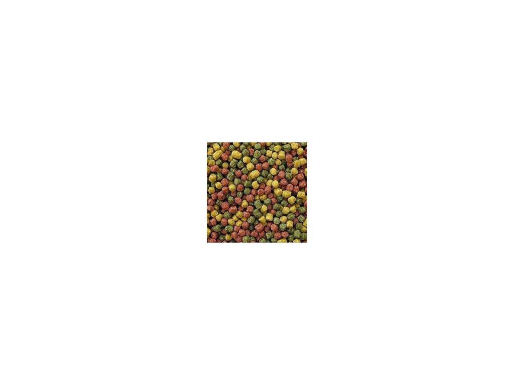 Krmivo pro Koi kapry - tříbarevné krmivo 3 mm