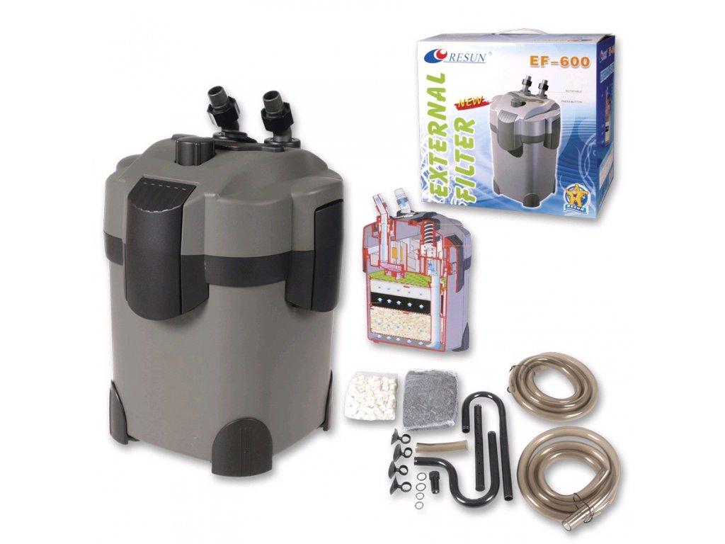 Resun vnější filtr EF-600