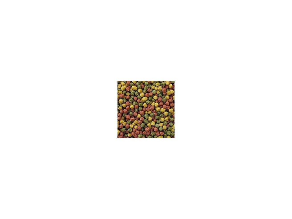 Krmivo pro Koi kapry - tříbarevné krmivo 6 mm