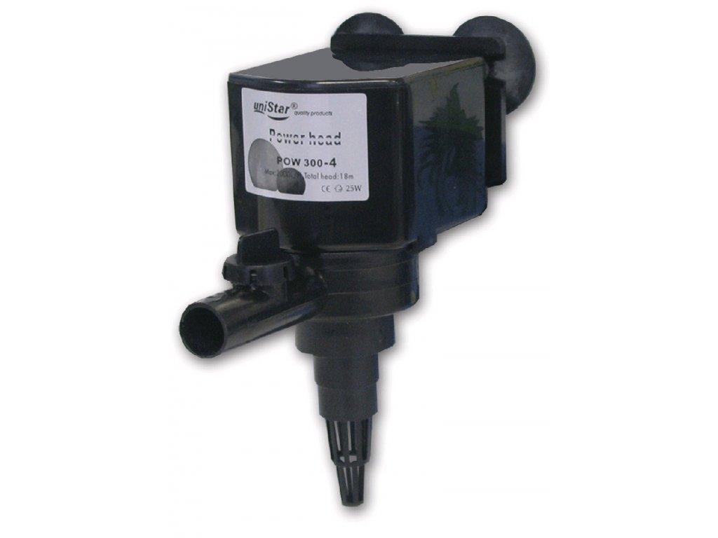 Přivzdušňovací hlava POW 300 - 4, 2 000 l/hod, h-max 1,8 m