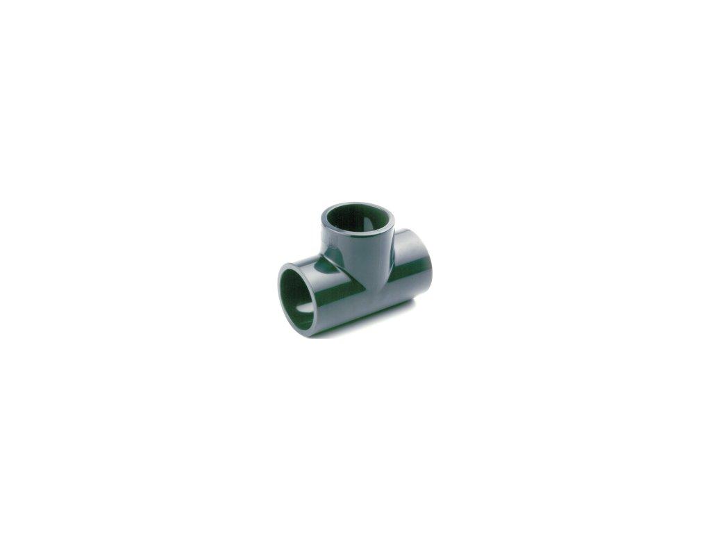 PVC T-kus 90° - lepení x lepení