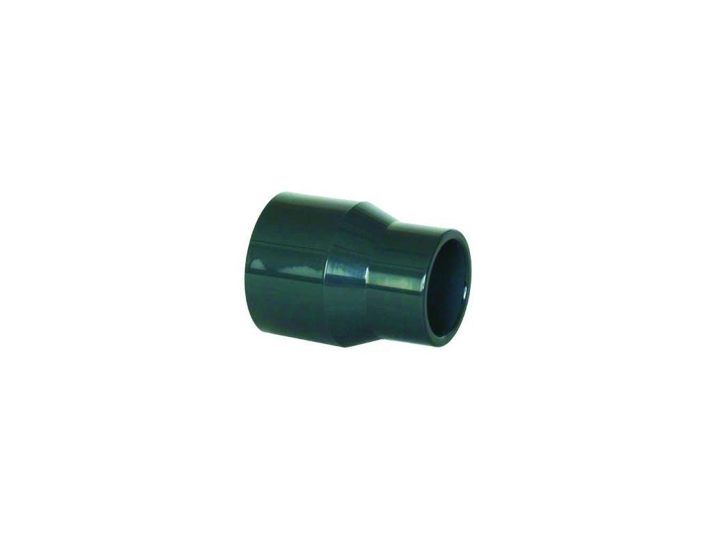 PVC redukce dlouhá - lepení x lepení