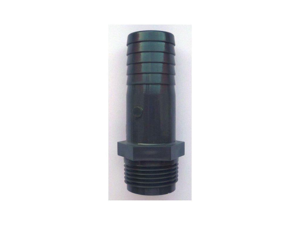 PVC hadicový trn - vnější závit