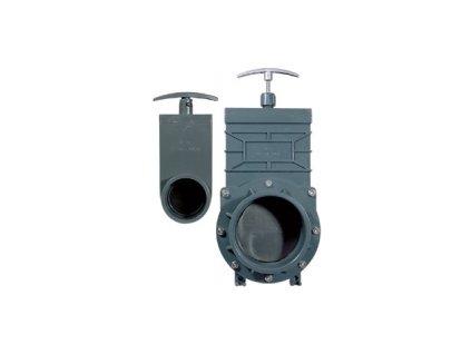 Šoupě PVC - tažný uzávěr 110 mm Valterra