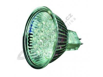 LED žárovka, MR16 12 V AC, 2 W, Teplá bílá