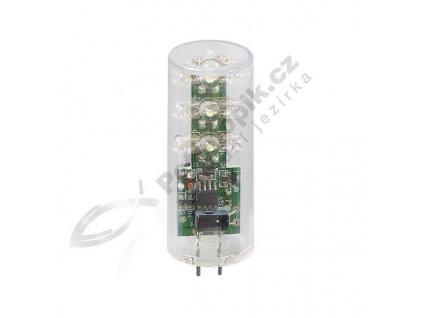 LED žárovka - válec, 12 V AC, 1 W, Bílá