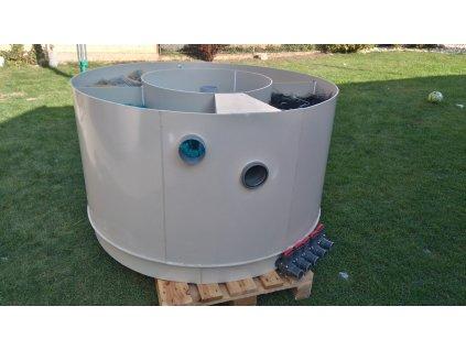 Filtr pro zahradní jezírka - čtyřkomorový - kulatý - 120 cm