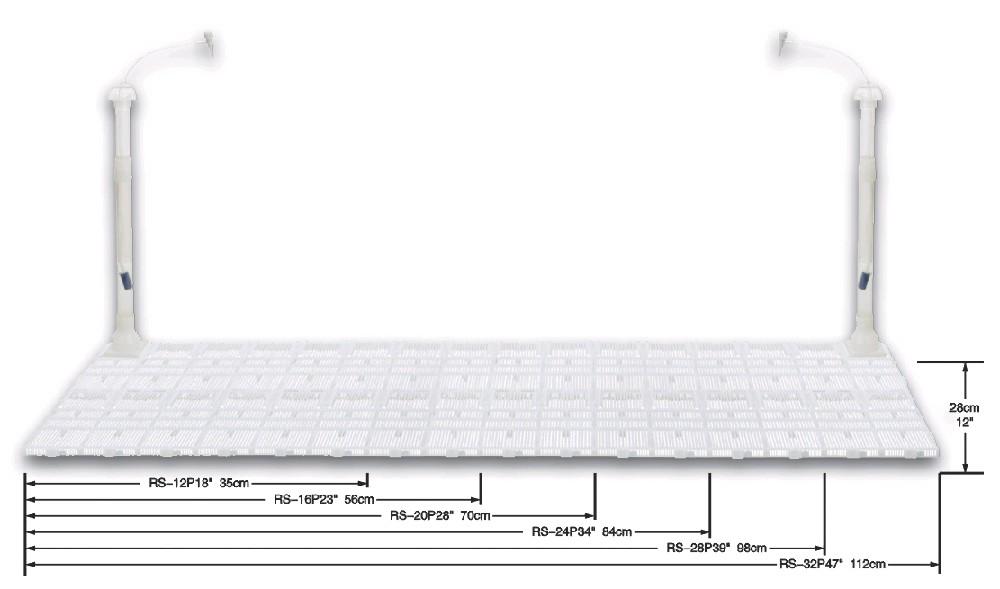 RESUN podpískové filtry Typ: Půdní filtr RESUN RS-12P