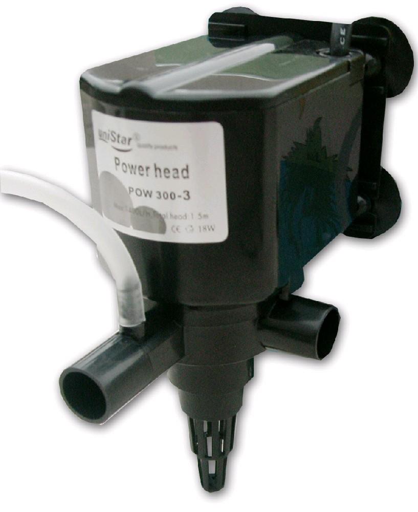 Přivzdušňovací hlava POW 300 - 3, 1 400 l/hod, h-max 1,5 m