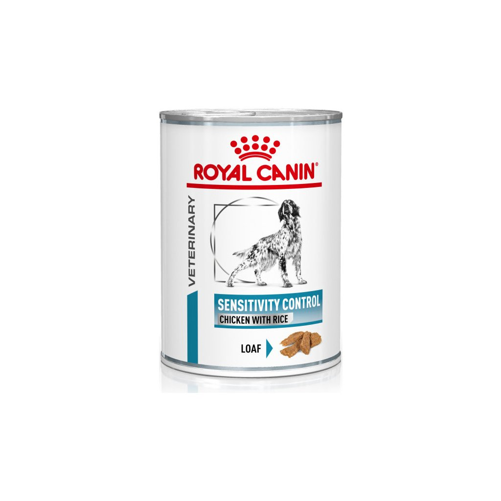 Royal canin Veterinary Health Nutrition Dog Sensitivity Control Chicken&Rice Can 420g
