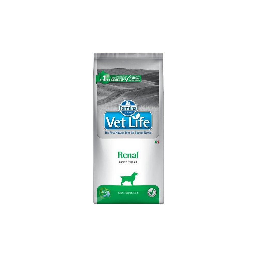 Vet Life Natural Canine Dry Renal 12 kg-expirovaný