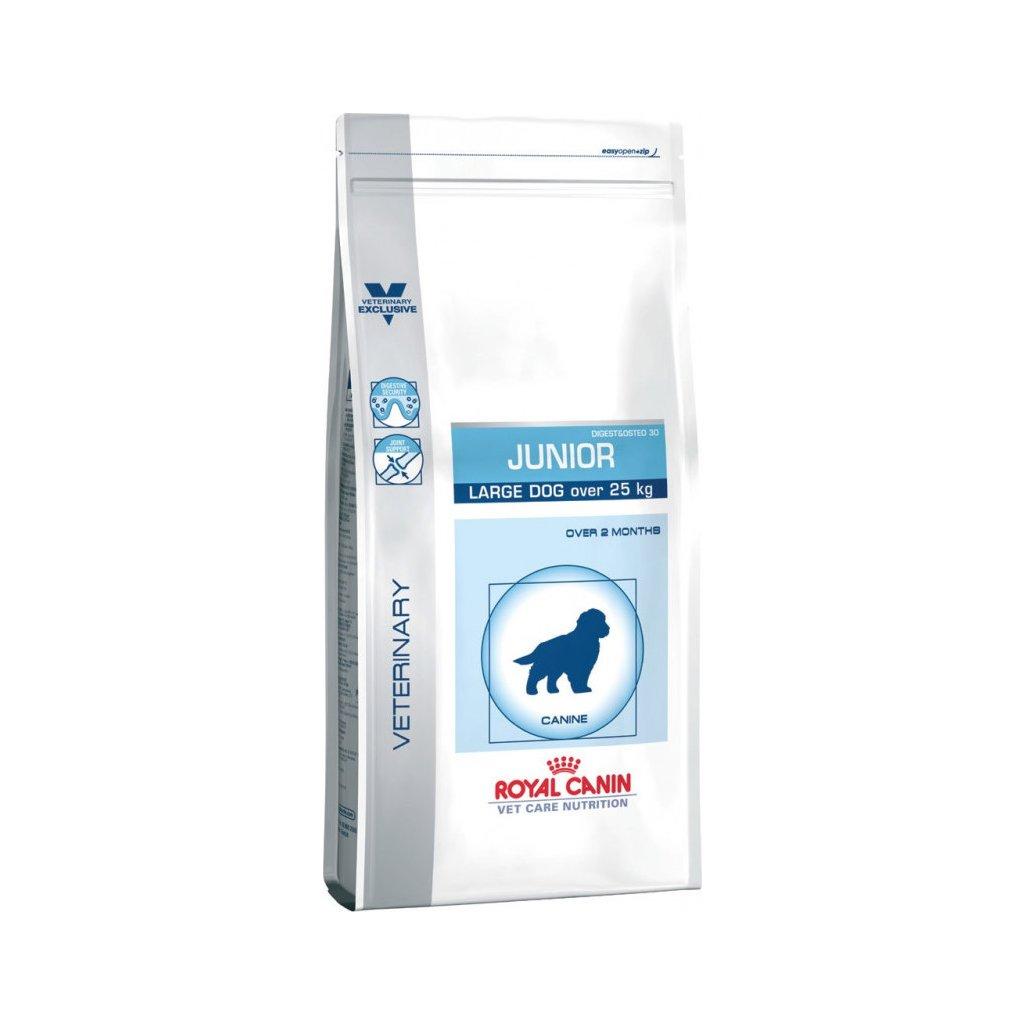 Veterinary Care Dog Junior Large-4Kg-doprodej skladu