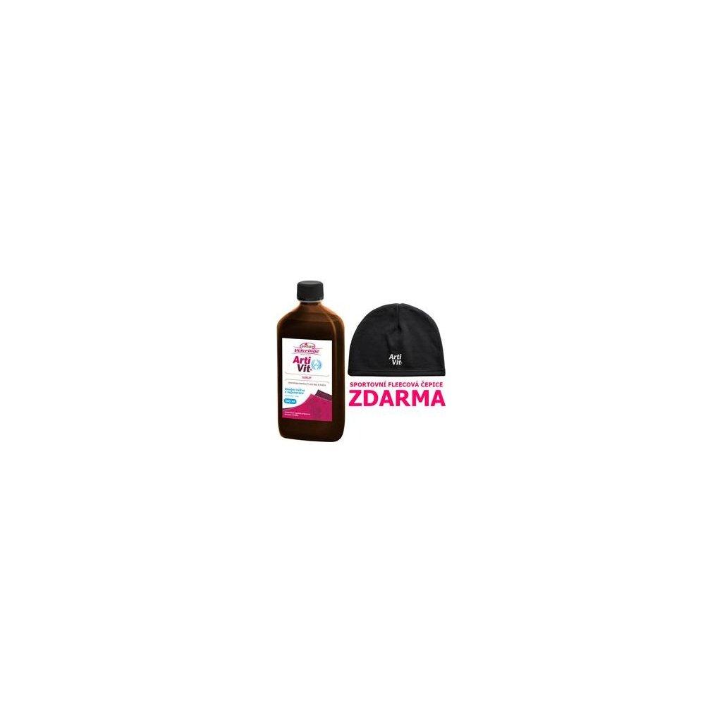VITAR Veterinae ArtiVit Sirup 500ml+čepice fleece- doprodej