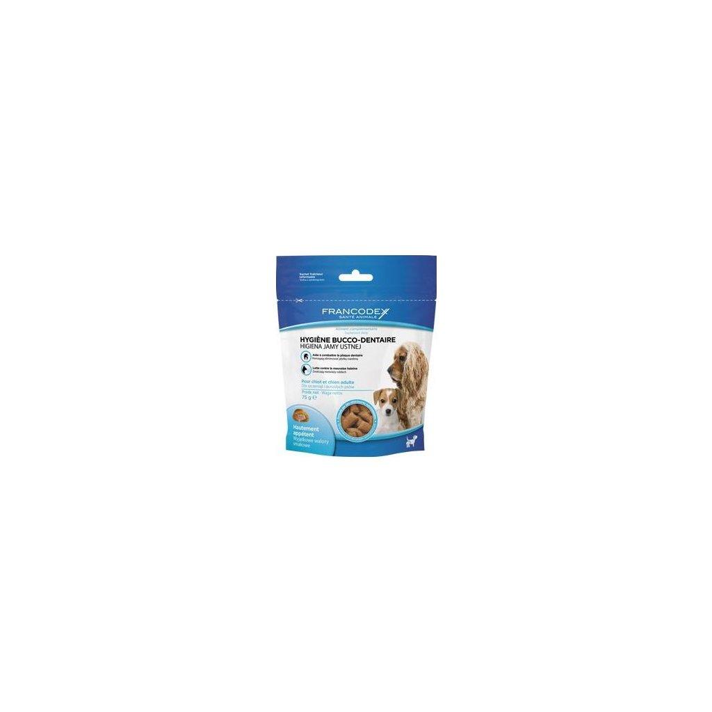 Francodex Pochoutka Breath Dental pes 75g- doprodej