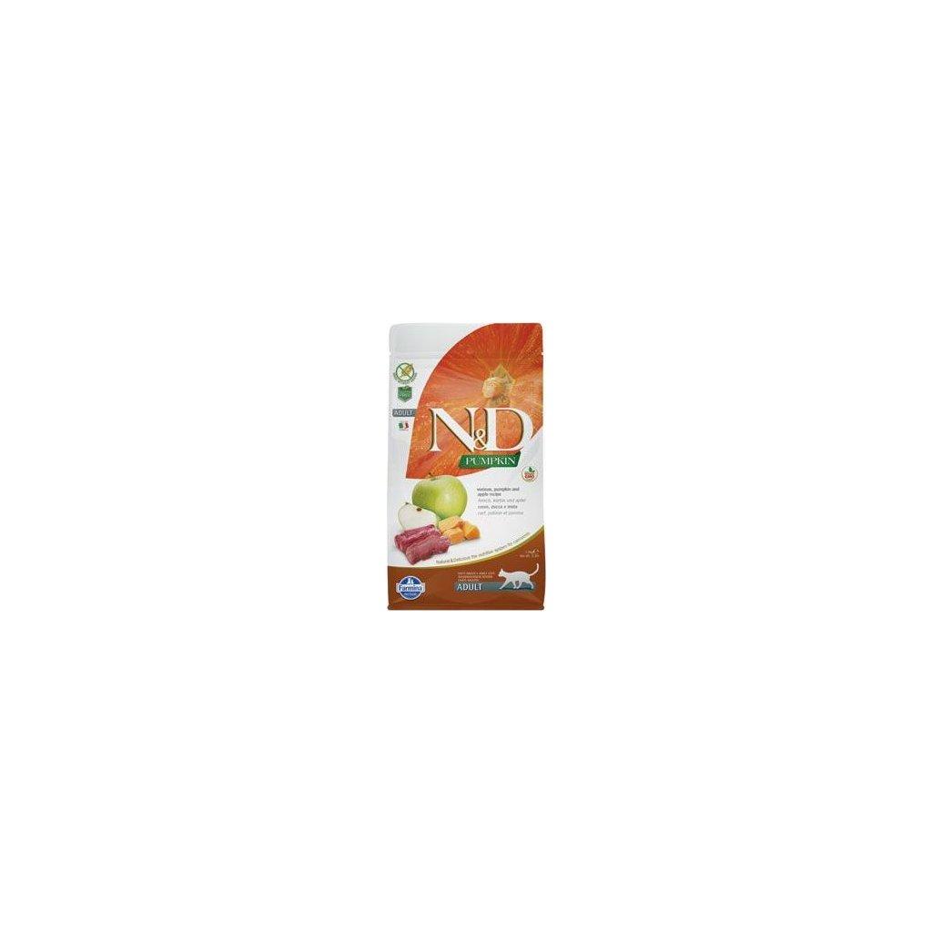 N&D Pumpkin CAT Venison & Apple 5kg (Exp.)