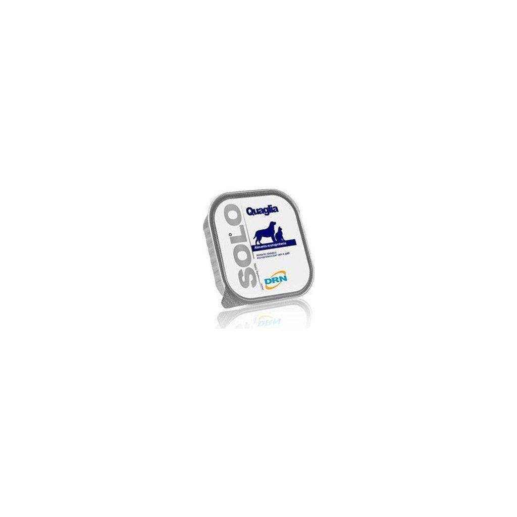 SOLO Quaglia 100% (křepelka) vanička 300g- vyprodej