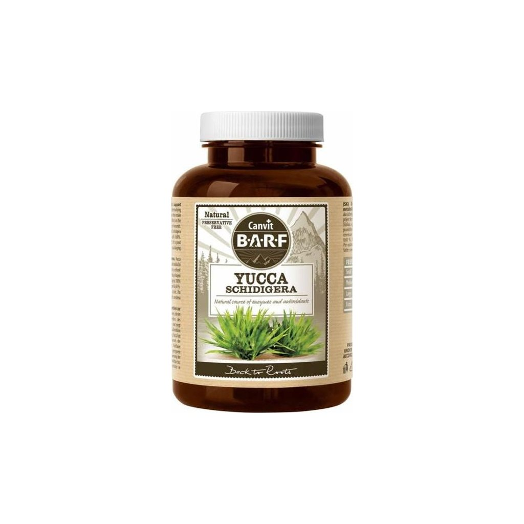Canvit BARF Yucca Schidigera 160 g- vyprodej