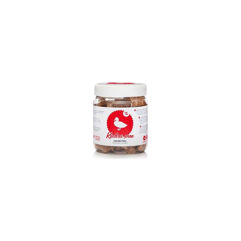 Raw Raw pochoutka mrazem sušená Kachní prsa 70g- doprodej