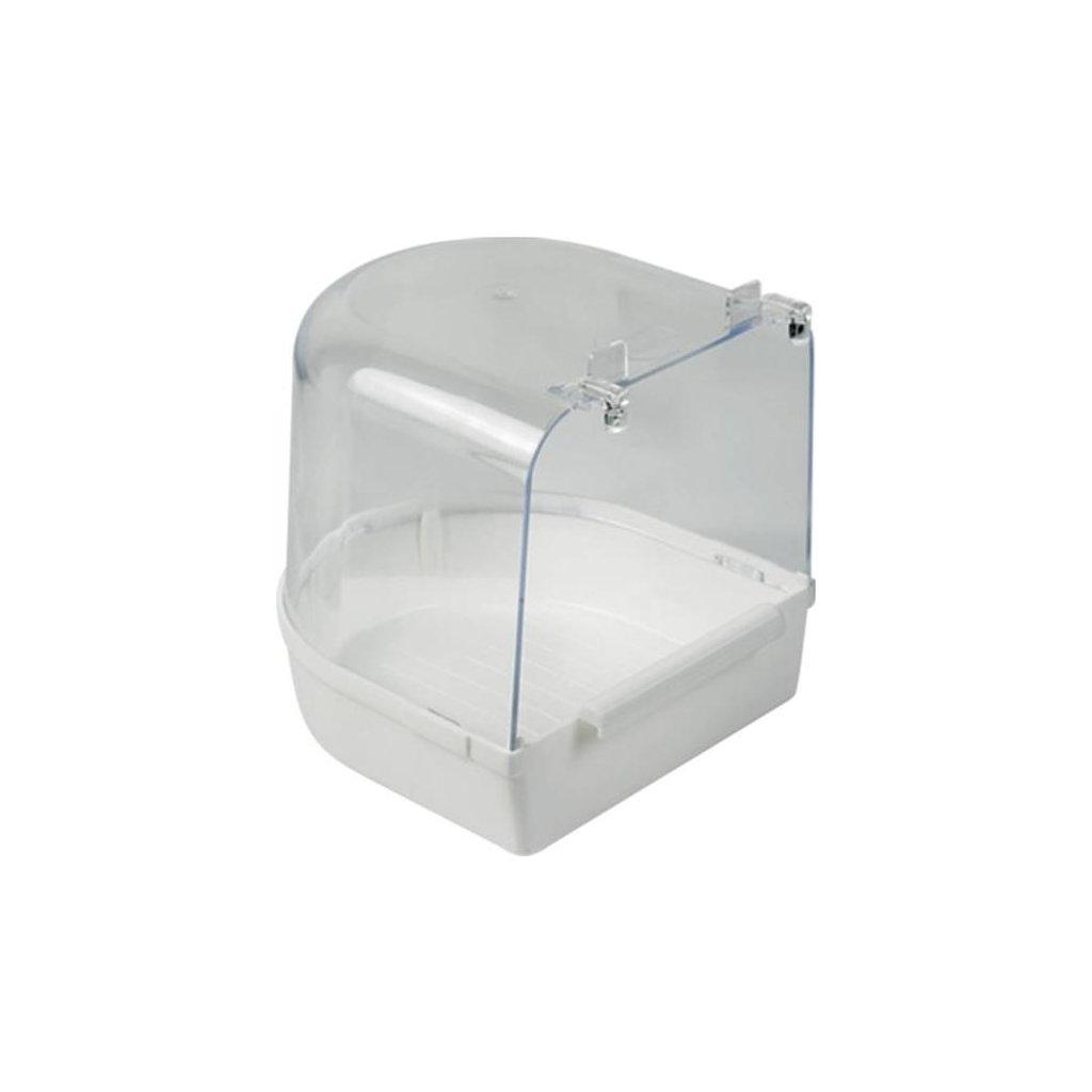 Koupelna plast Nobby - půlkruhová do dvířek velká