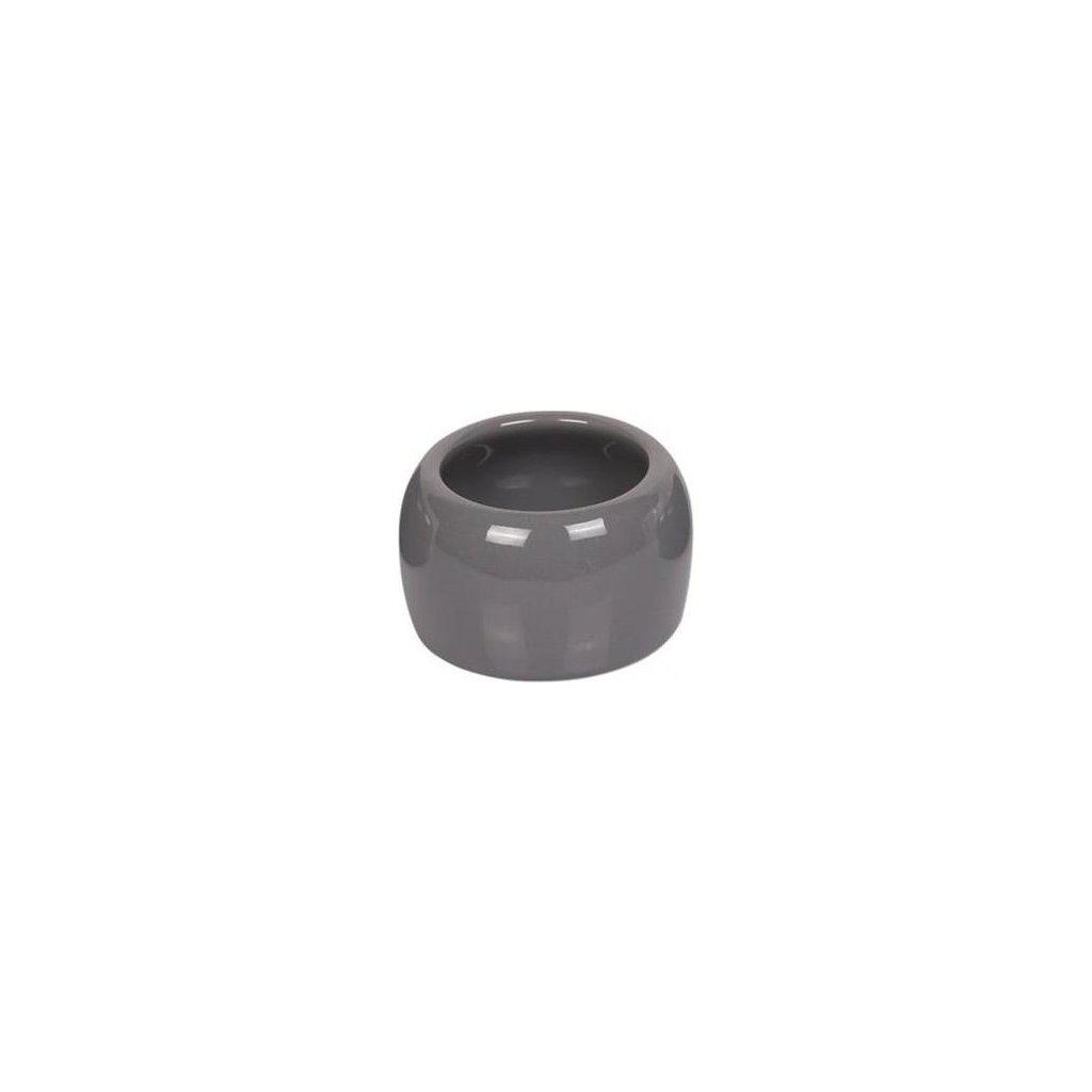 Miska hlod. keramická - šedá Nobby 125 ml
